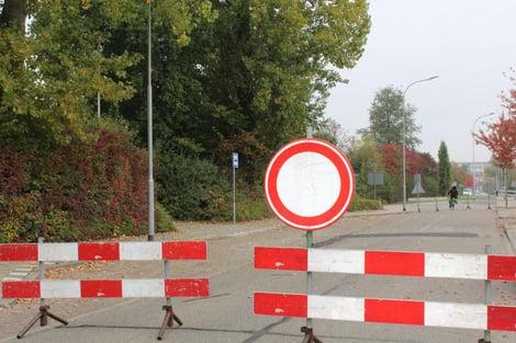 GDPR detour sign