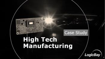 High Tech Manufacturer Case Study