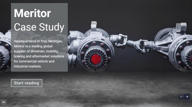 Meritor Case Study Cover Image