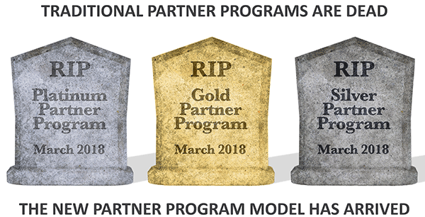 gravestones for old Partner Program