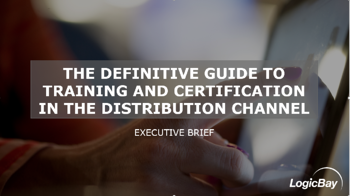 Training and Certification in the Distribution Channel