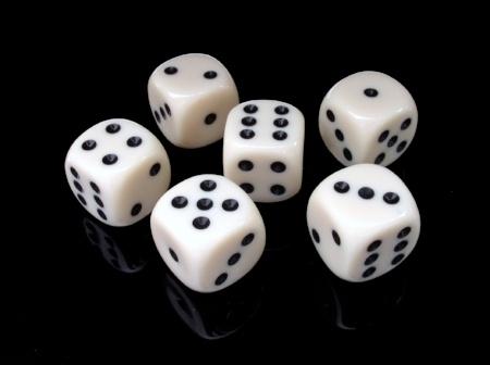 six dice